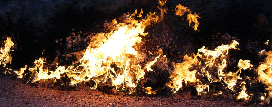 Aserbaidschan Ol Schlammvulkane Und Brennende Felsen Reiseweise